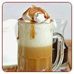 Kávé, teaszirupok