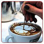 Latte art, díszítőeszközök