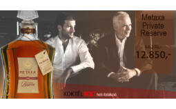 Koktélbolt - A hét itala: Metaxa Private Reserve Brandy